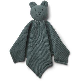 Liewood Knuffeldoekje Milo Mr. Bear Blauw