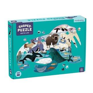 Mudpuppy Shaped puzzle Arctic Life 300 pc.