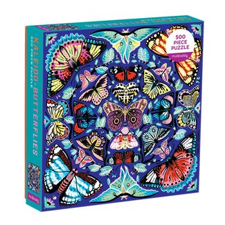 Mudpuppy Puzzle Kaleido Butterflies 500 pc.