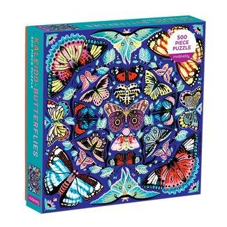 Mudpuppy Puzzle Kaleido Schmetterlinge 500 Teile