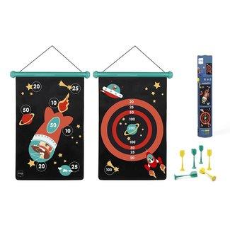 Scratch Magnetic Dart Board Space Large
