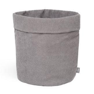 Jollein Storage Basket Corduroy Storm Grey