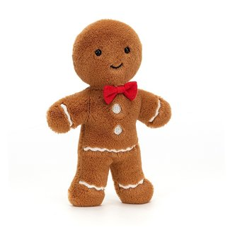 Jellycat Jolly Gingerbread Fred Brown