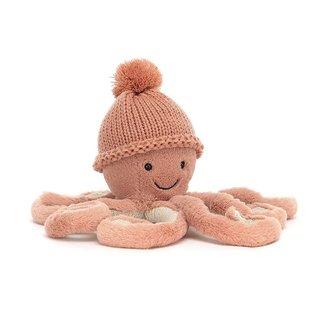 Jellycat Octopus Cozi Odell Knuffel Roze Small 23 cm