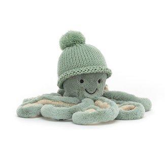 Jellycat Octopus Cozi Odyssey Knuffel Groen Small 23 cm