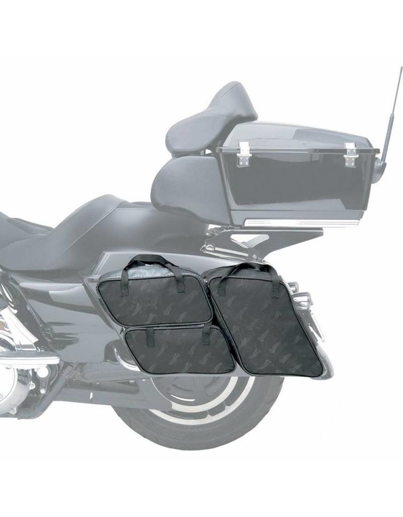 4 delig Binnentassenset voor Harley Davidson Touring 1993-2013