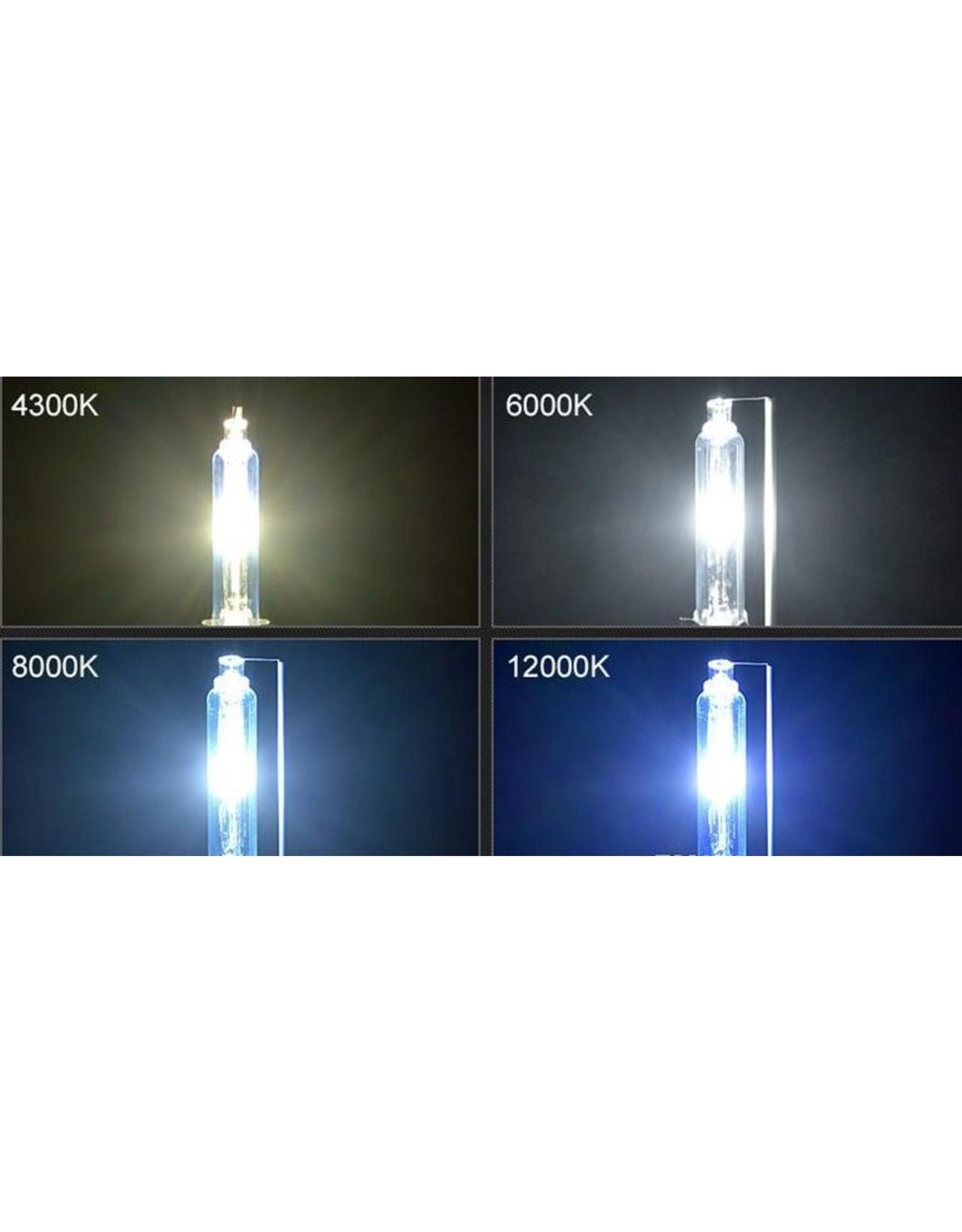 2 x D2S 6000K lampen met E-keurmerk