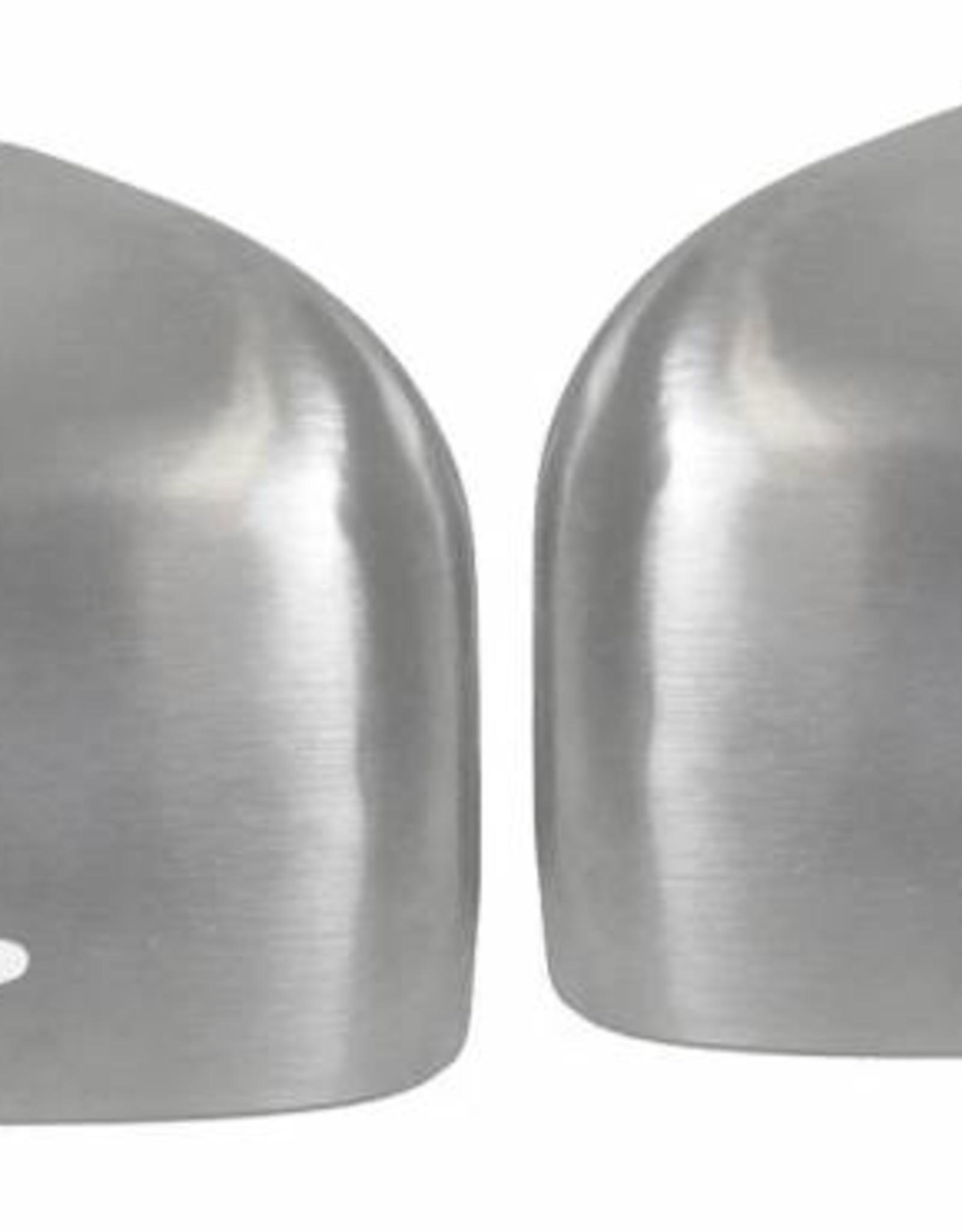 Spiegelkappen mat aluminium voor Mercedes W212 W204 W176 W246 C218 X156