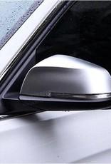 Spiegelkappen mat aluminium voor BMW GT F07 F10 F11 F18 F01 F02