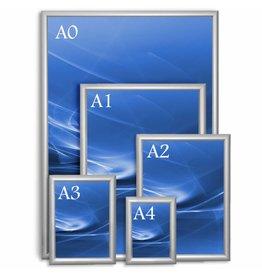 Aluminium Posterframe A4, A3, A2, A1, A0