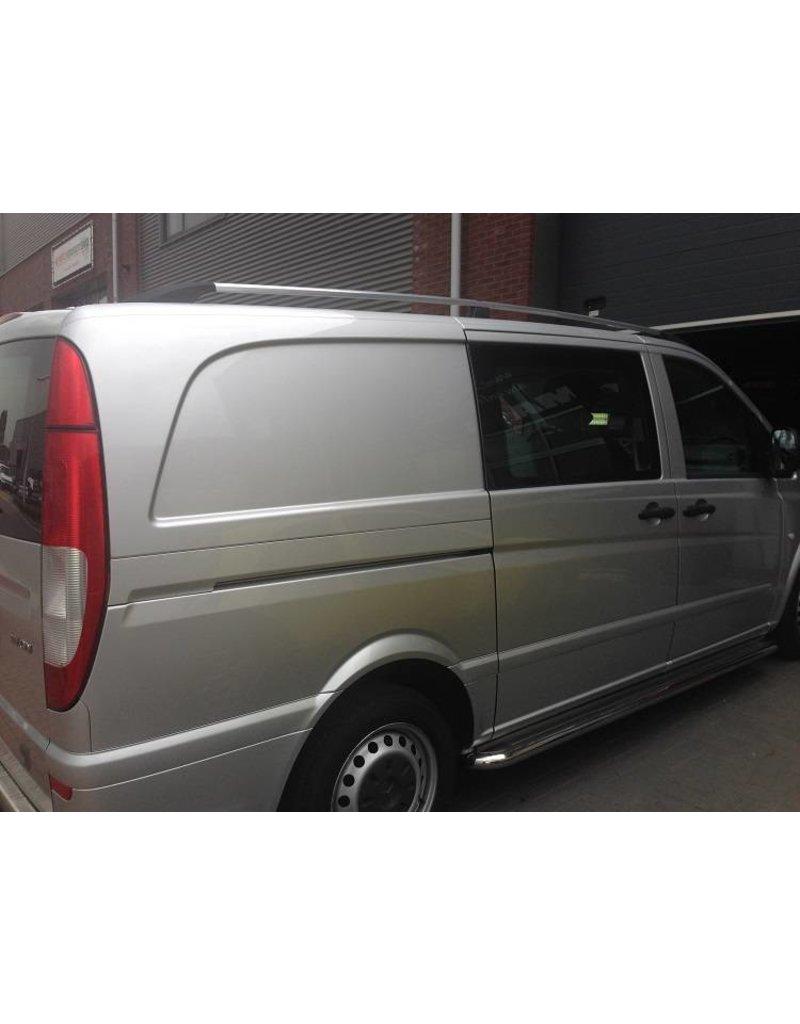 Dakrails aluminium voor Mercedes Benz Vito/ Viano W639