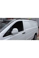 Dakrails zwart voor Mercedes Benz Vito/ Viano W639