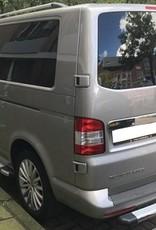 Dakrails aluminium voor VW T5 korte wielbasis