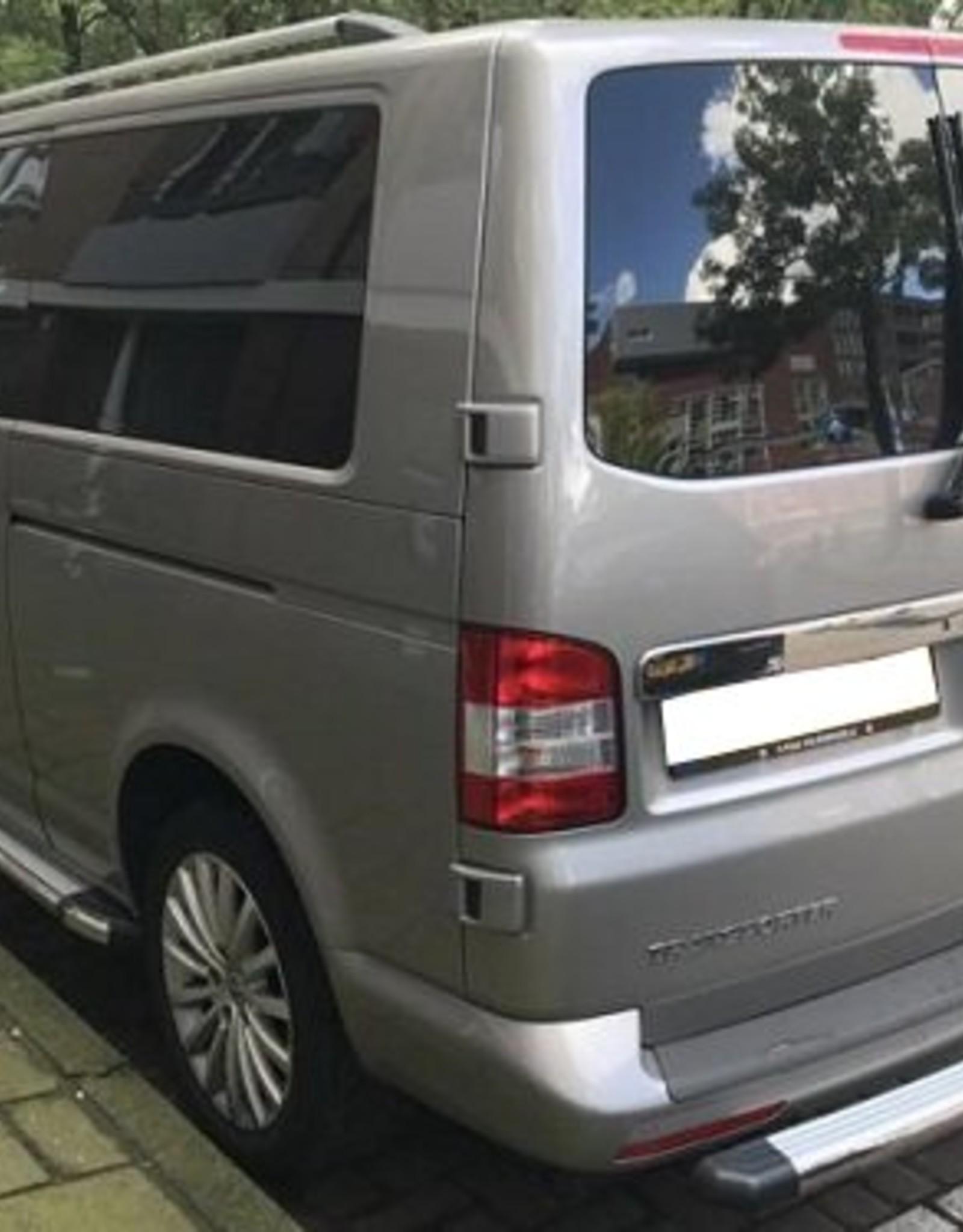 Dakrails aluminium voor VW T5 lange wielbasis