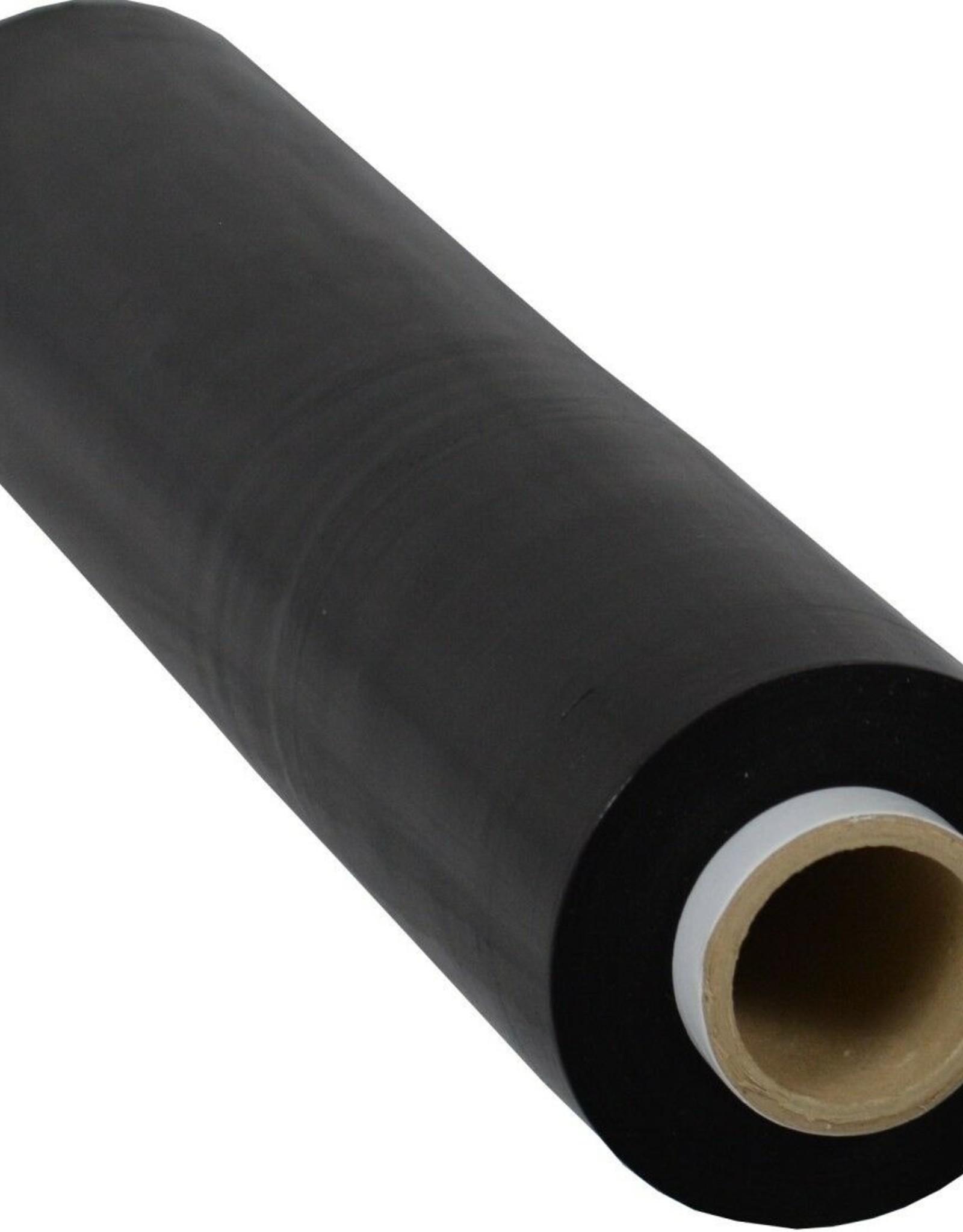 Stretchfolie zwart 23 μm, 500mm breedte