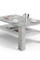 Salontafel, bijzettafel betonlook 100 x 60 cm