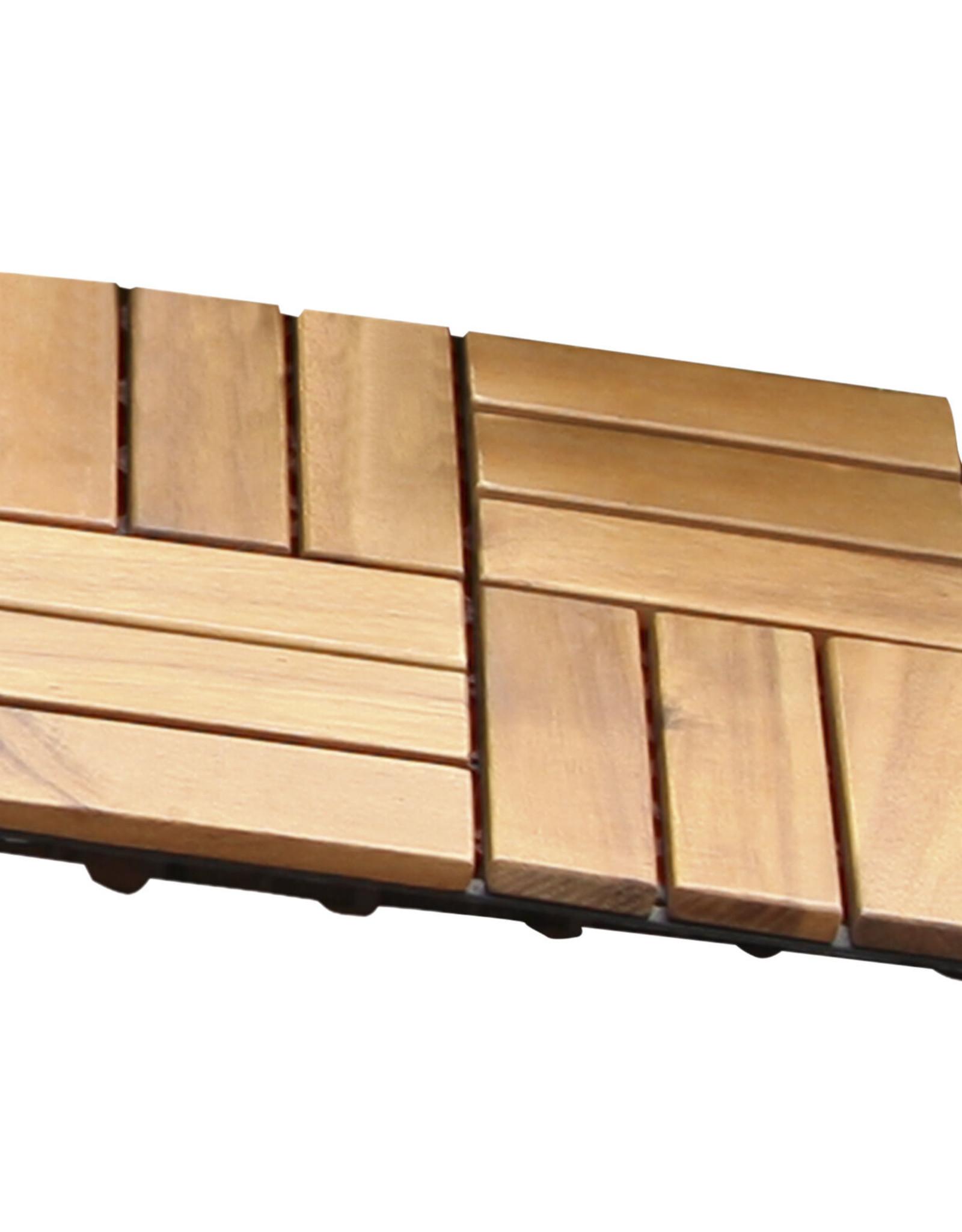 10 x Balkonvlonders, terrasvlonders, vlonderplanken