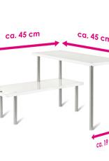 Keukenkast hoekkast 45 x 45 x 31 cm