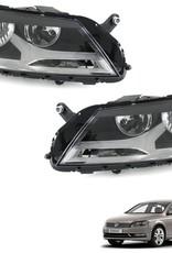 Koplampen links en rechts VW Passat B7 Type 36