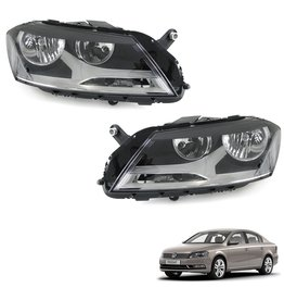 Koplampen links en rechts VW Passat B7 Type 36