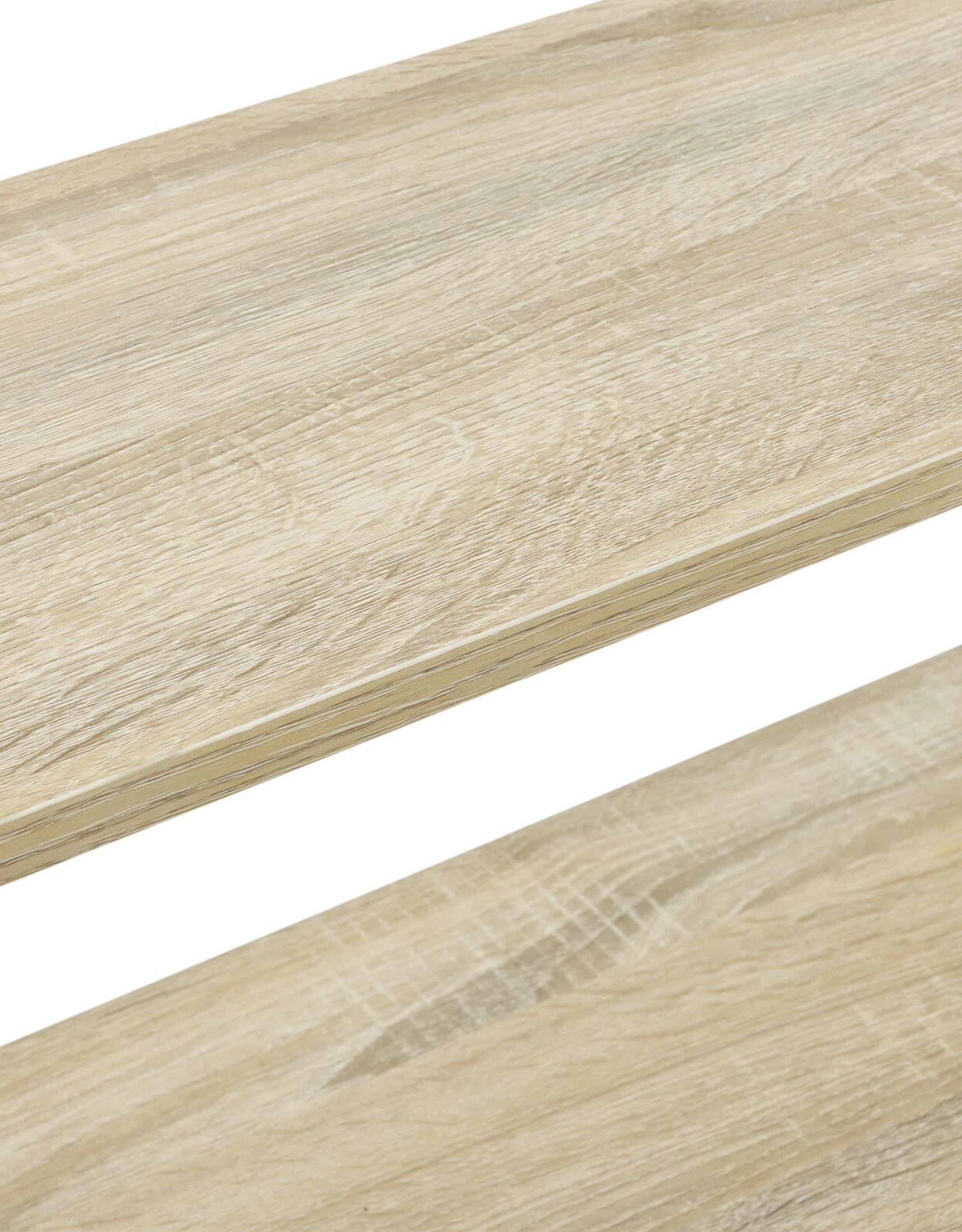 Staande kast met 3 planken 101 x 60 x 28 cm