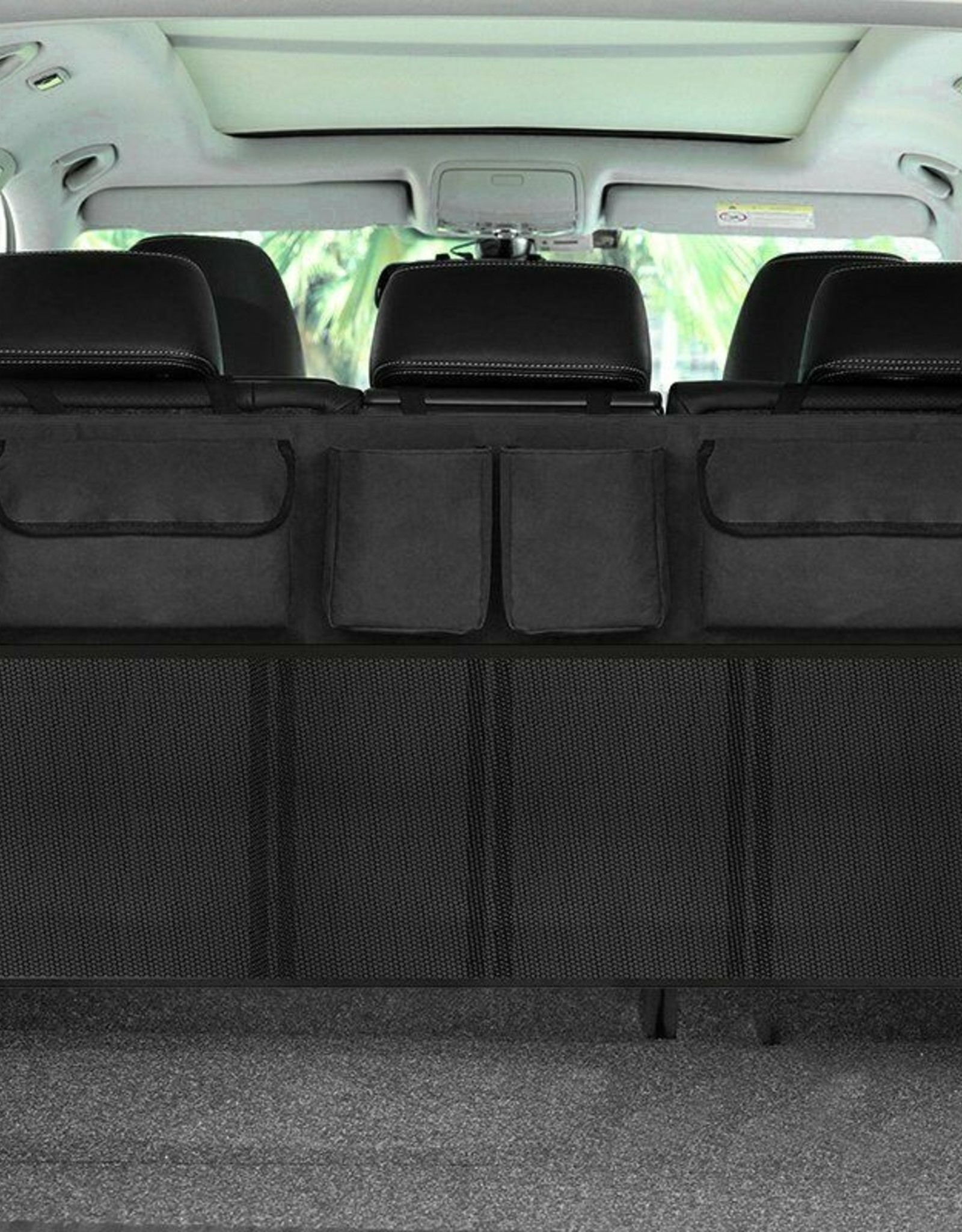 Kofferbakorganizer met acht vakken