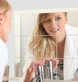 32 x spiegelfolie, tegelfolie 15 x 15 cm
