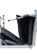 Campingtafel met opbergruimte, inklapbaar 120 x 47 x 68 cm
