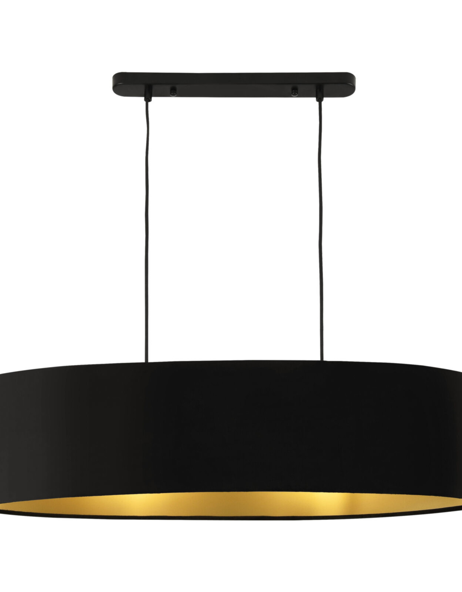 Hanglamp met 2 lamphouders, 132 cm hoogte