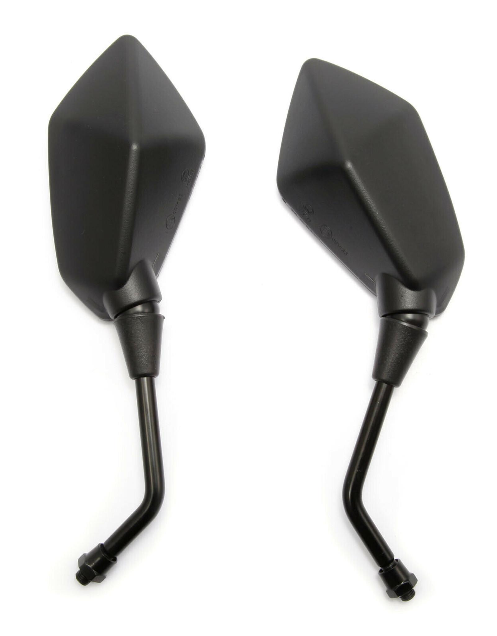 2 x motorspiegel, scooterspiegel, brommerspiegel
