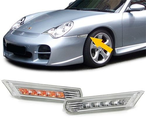 Porsche Boxster knipperlichten
