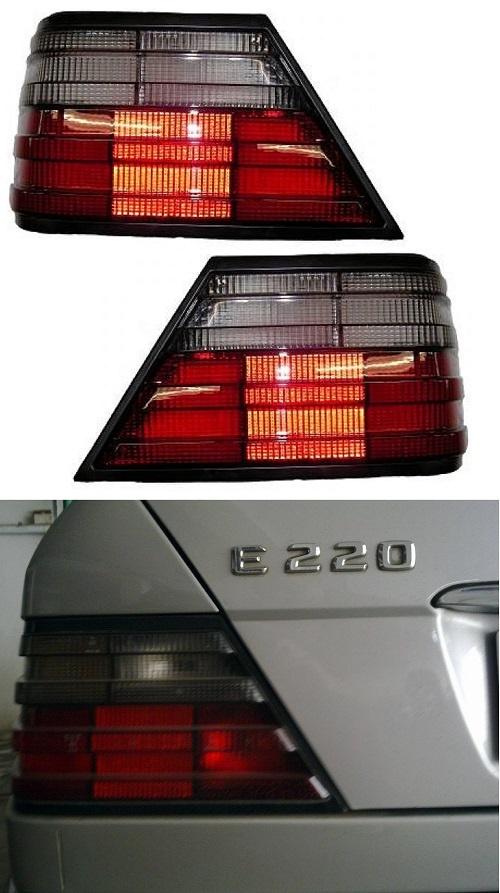 Achterlichtglas Mercedes Benz W124