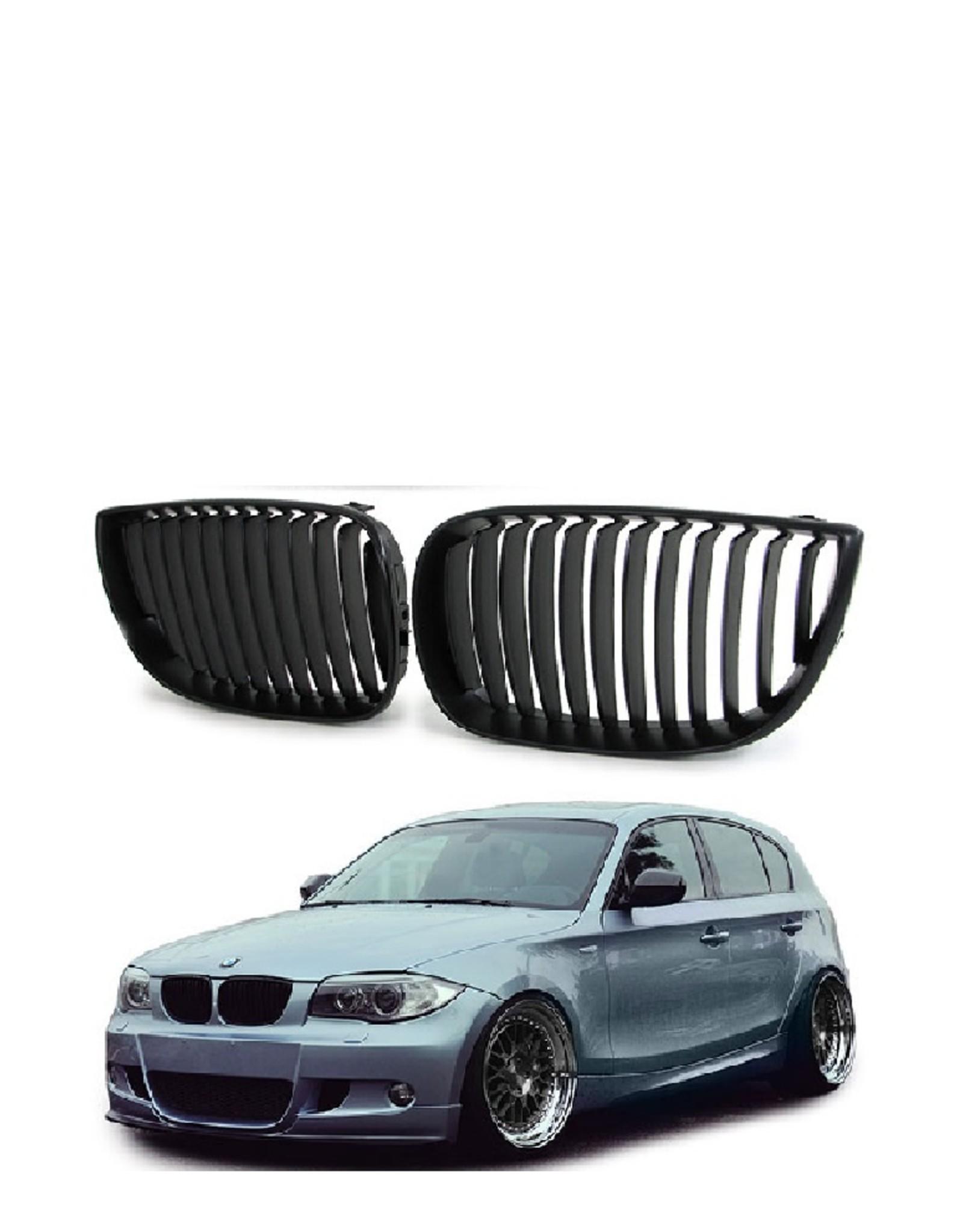 Grille zwart voor BMW 1 serie E81 E87
