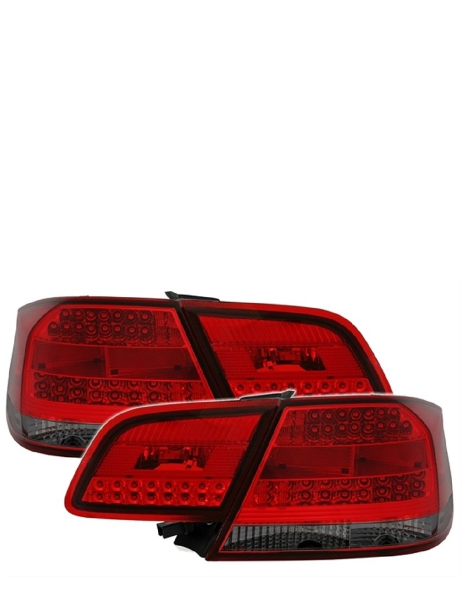 LED achterlichten rood smoke voor BMW 3 serie coupe E92