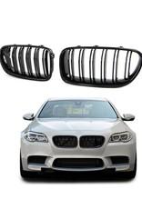 Grille hoogglans zwart voor BMW 5 serie F10 F11