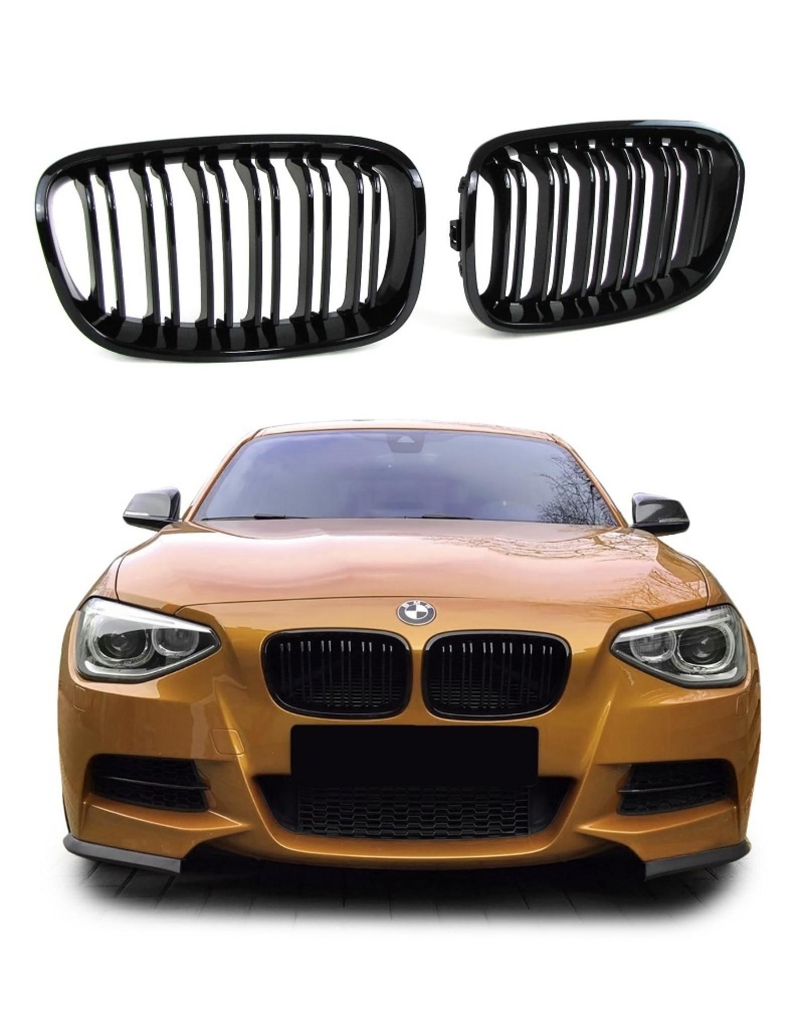 Grille glossy zwart voor BMW 1 serie F20 F21