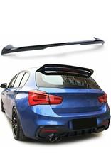 Achterspoiler, dakrandspoiler zwart glossy voor BMW 1 serie F20 F21