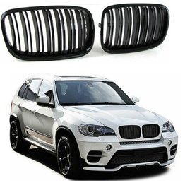 BMW X5 E70, X6 E71  grille glanzend zwart