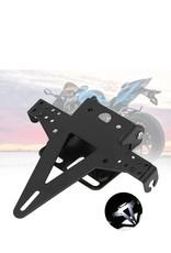Motorfiets kentekenplaathouder met LED verlichting