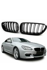 BMW 6 serie F06 F12 F13 grille hoogglans zwart