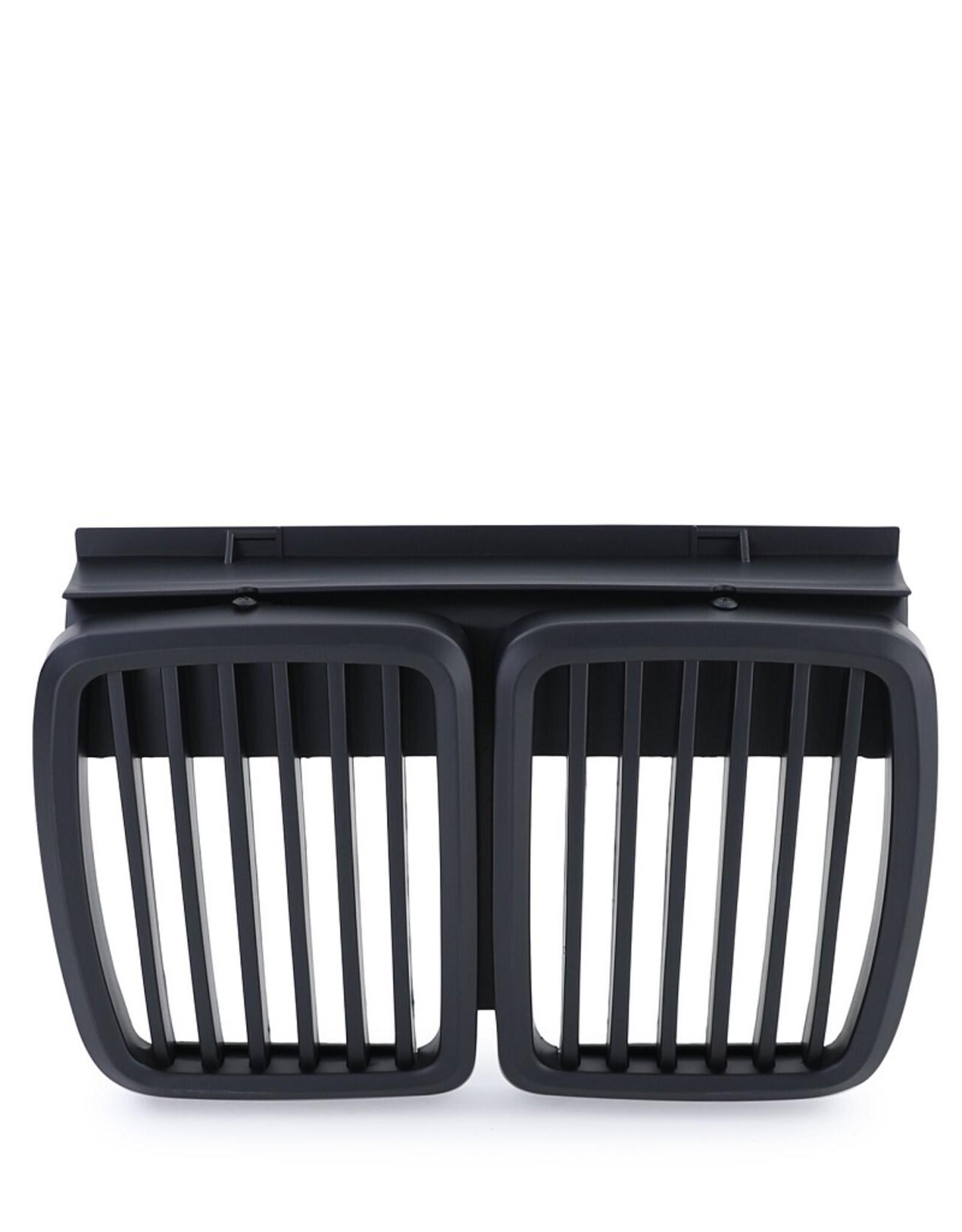 BMW 3 Serie E30 grille zwart
