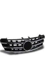 Mercedes Benz M Klasse W164 grille sportgrille zwart chroom