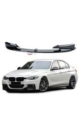 BMW 3 serie F30 voorspoiler hoogglans Performance look