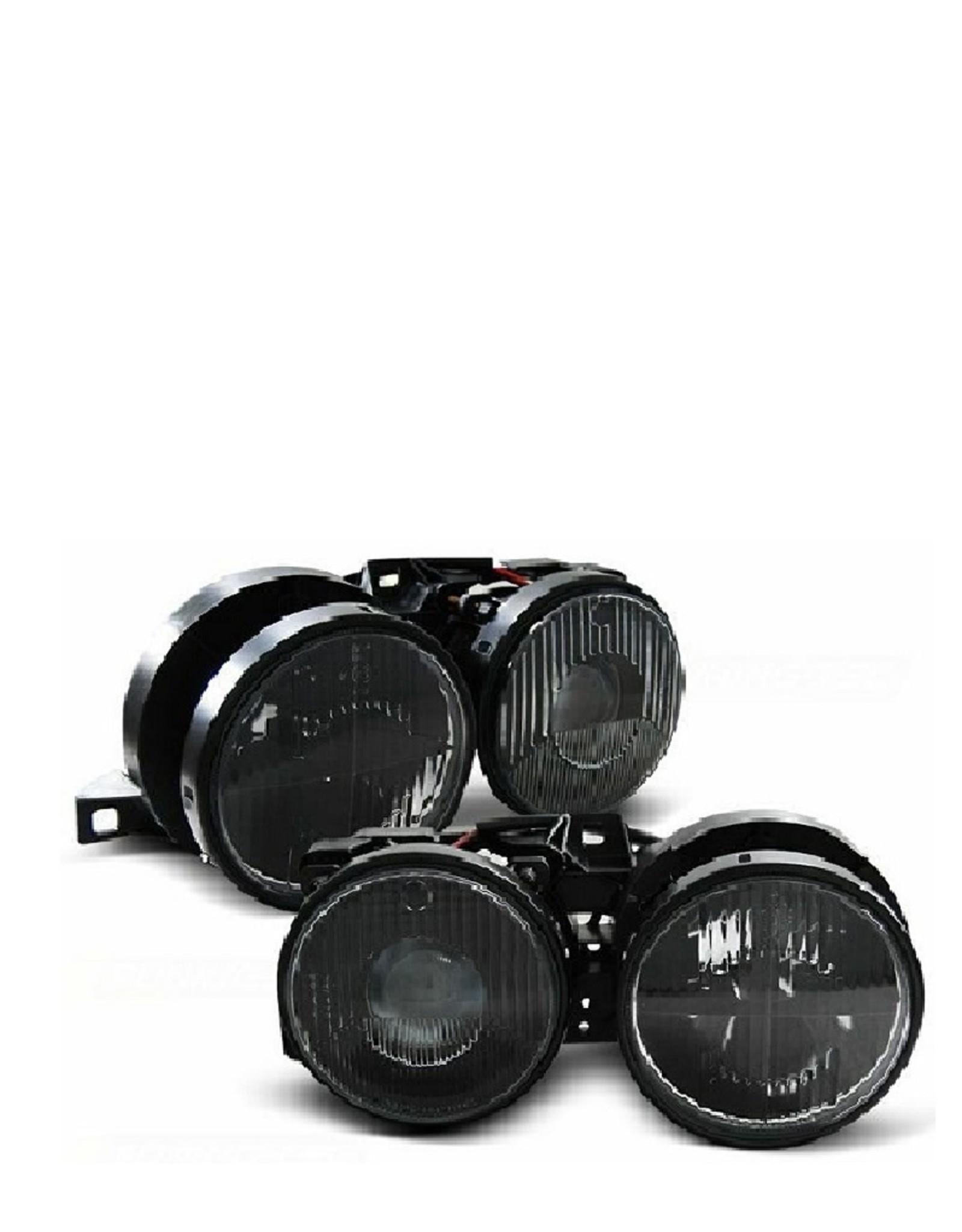 Koplampen zwart BMW 3 serie E30