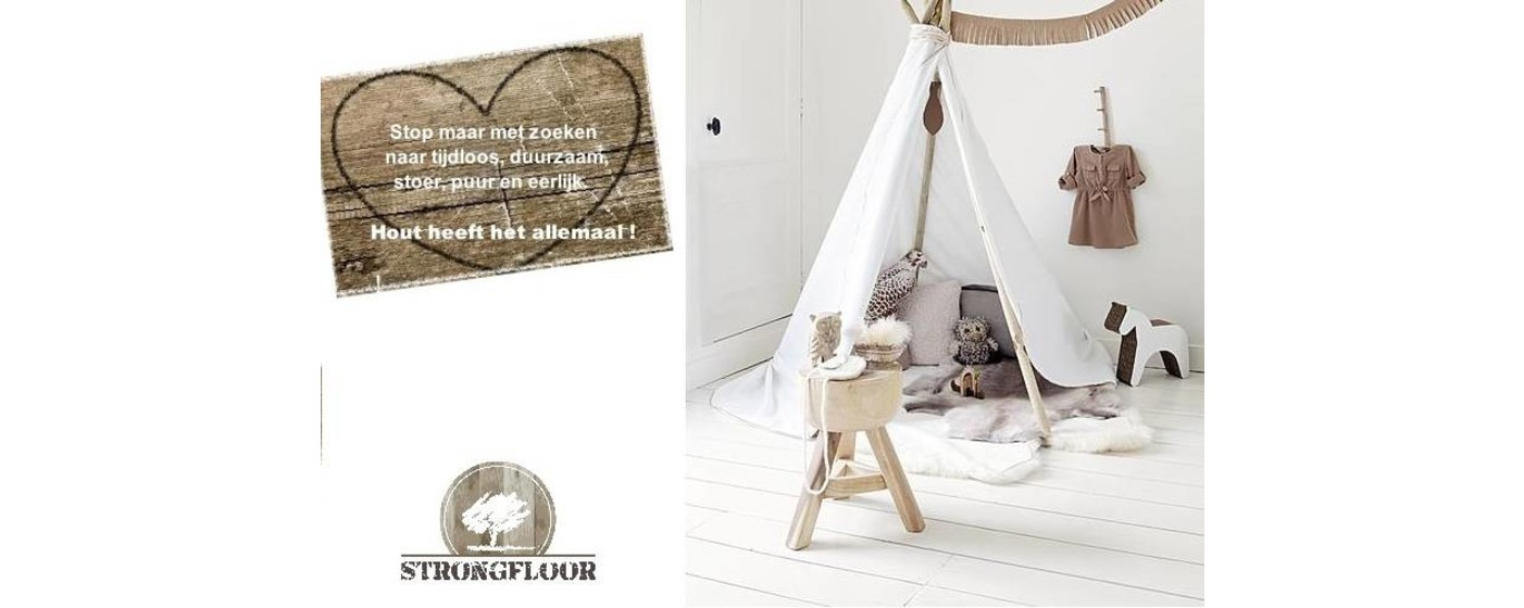 New Witte houten vloeren - Strongfloor houten vloeren @SQ36