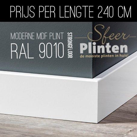 Ral 9010 , Moderne mdf plint.