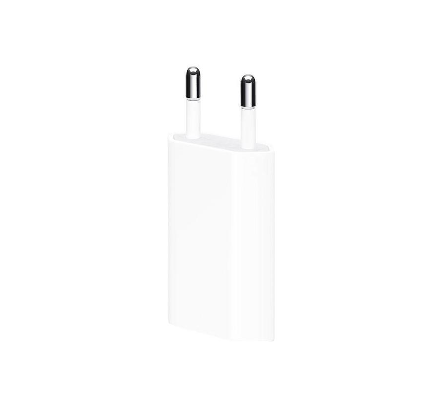 Originele iPhone lightning oplaadkabel 1 meter + 5 Watt adapter