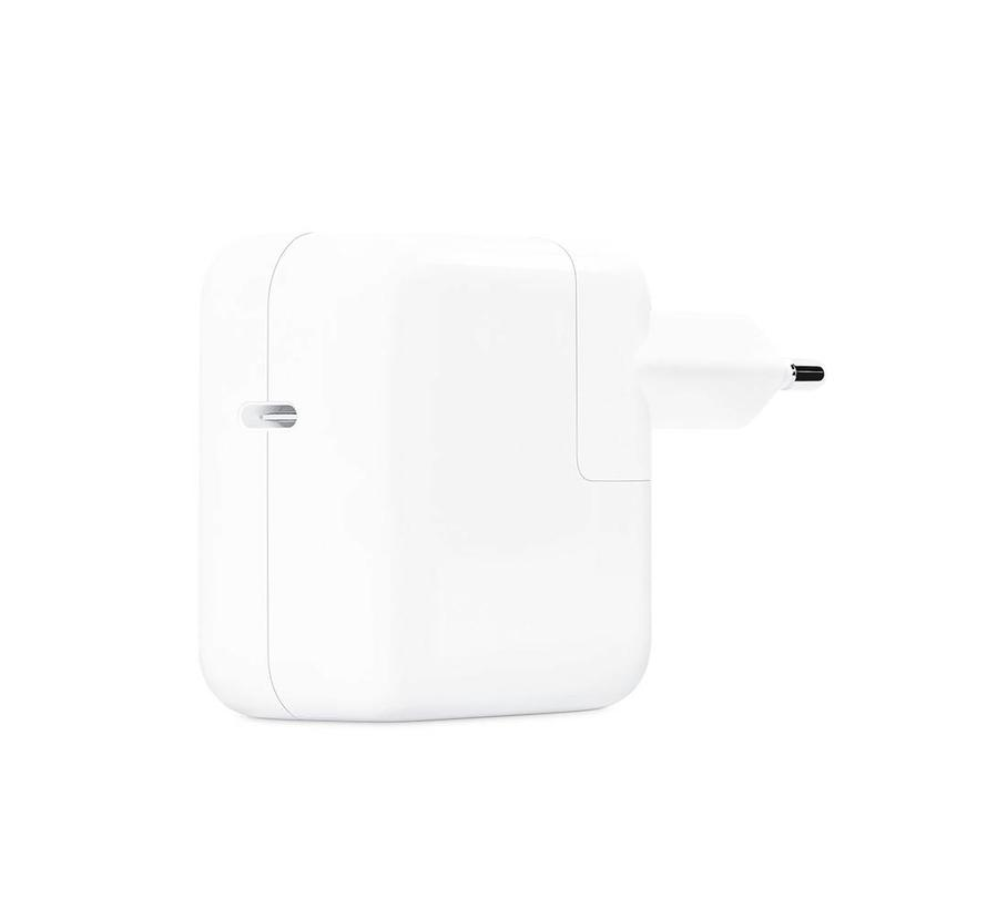 Originele MacBook USB-C Lichtnetadapter 30W