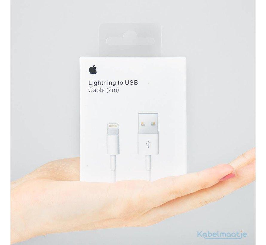 iPhone & iPad lightning oplaadkabel - 2 meter