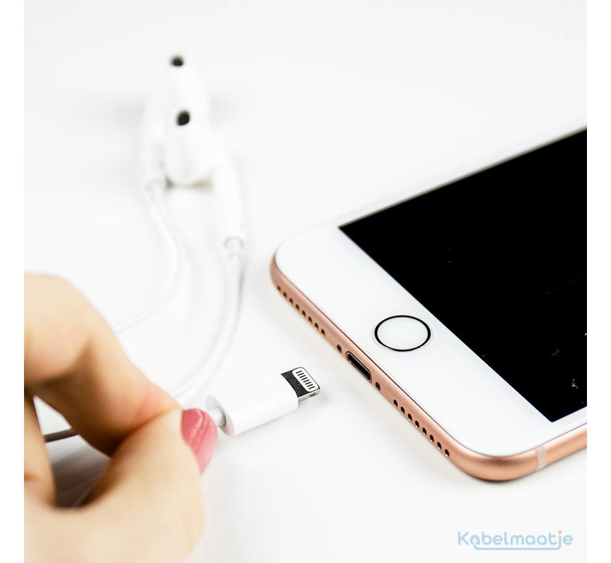 Earpods met lightning kabel